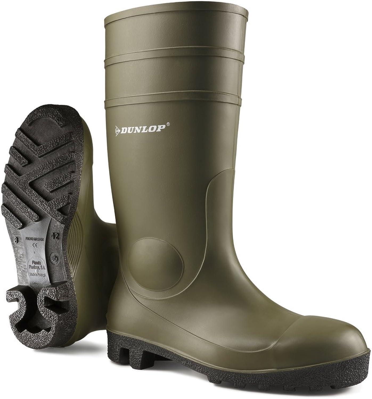 Dunlop Unisex FS1700 142VP Wellington Boot   Mens Womens Boots (7 US) (Green)