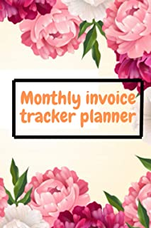 Monthly invoice tracker planner:: Financial monthly and weekly budget planner Budget planning Expense tracker