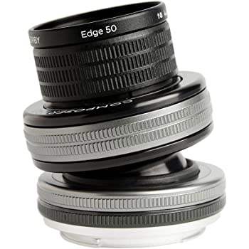Lensbaby LB-3U5N Composer Pro II with Edge 50 Lens for Nikon F Camera