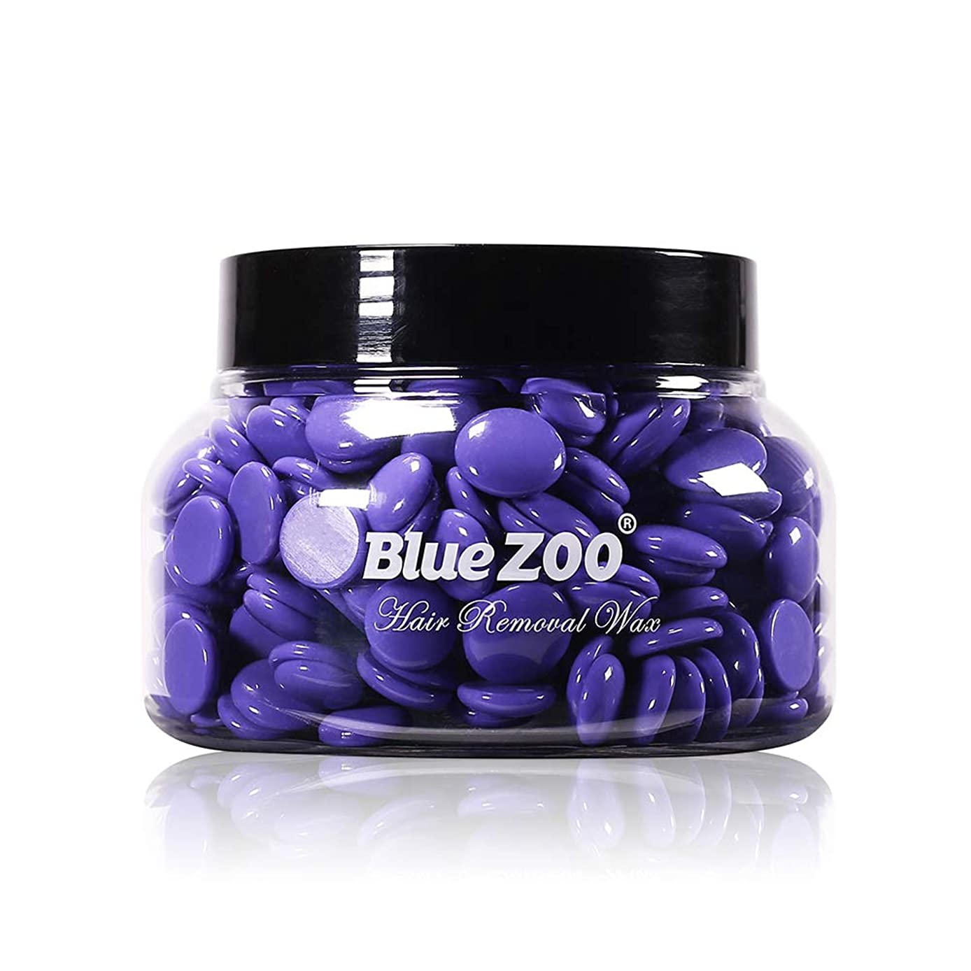 Anself Blue ZOO 150g Hard Wax Beans Natural Ingredients Solid Hair Remover Wax Bean Body Hair Removal Depilatory Wax