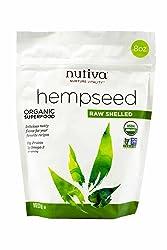 Nutiva Organic Hempseed, Raw Shelled, 8 Ounce