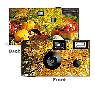 5 Autumn's Bounty Custom Disposable Cameras, Can be Personalized, Single Use from CustomCameraCollection