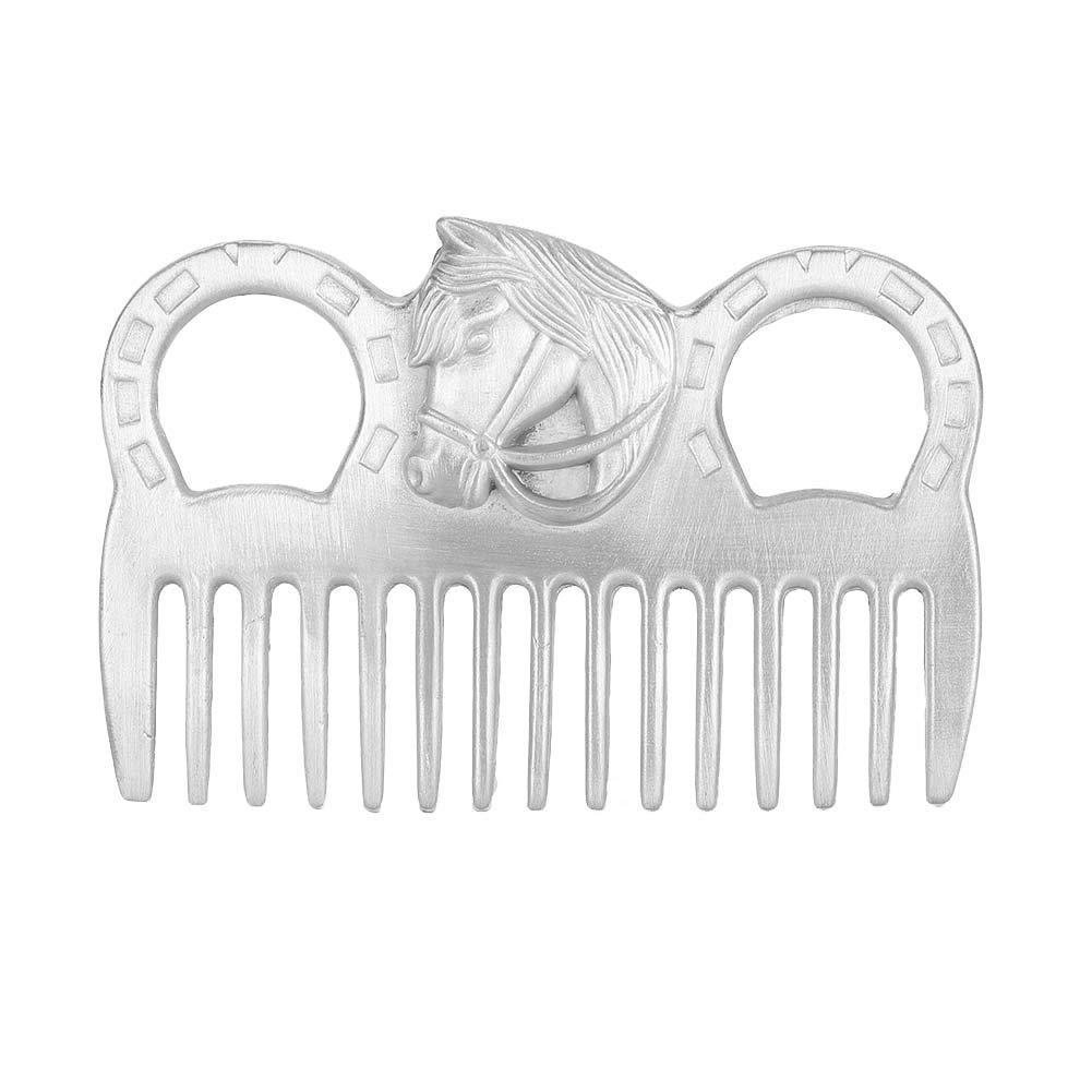Soapow Portable Livestock Horse Hair Techno Metal Fashion In a popularity Polishing Comb