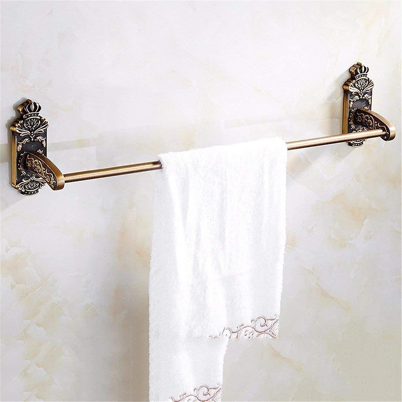 Furniture of European Style Sculpted in Bronze of Aluminum Accessories for Bathroom Bath-tub, Hair-Bath,Suspension Hook Mural Single Rod