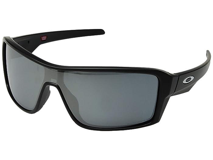 Oakley Ridgeline (Matte Black/Prizm Black Polarized) Sport Sunglasses