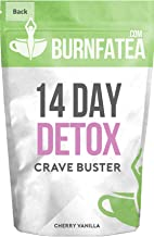 Burnfatea 14 Day Crave Buster detox Cherry Vanilla -14 Pouches Pack Estimated Price : £ 7,99