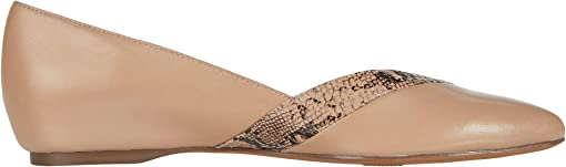 Barely Nude Leather/Snake
