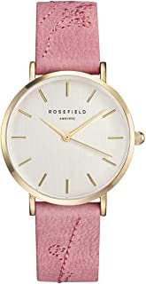 Rosefield Womens Analogue Classic Quartz Watch with Leather Strap CIRBG-E92