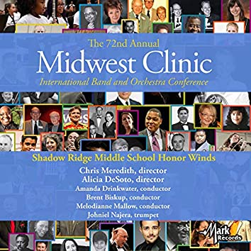 2018 Midwest Clinic: Shadow Ridge Middle School Honor Winds (Live)