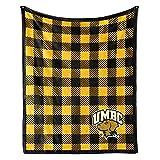 Venley NCAA University of Maryland Baltimore County Retrievers Fleece Blanket, 30' X 40', Multicolor