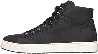 Nero Giardini A800670U - Zapatillas altas para hombre de piel