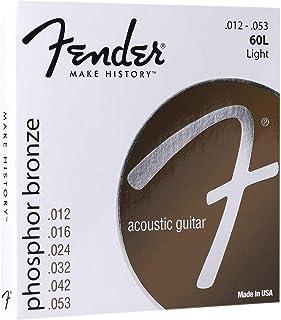 Fender Phosphor Bronze Acoustic Guitar Strings (0730060403)