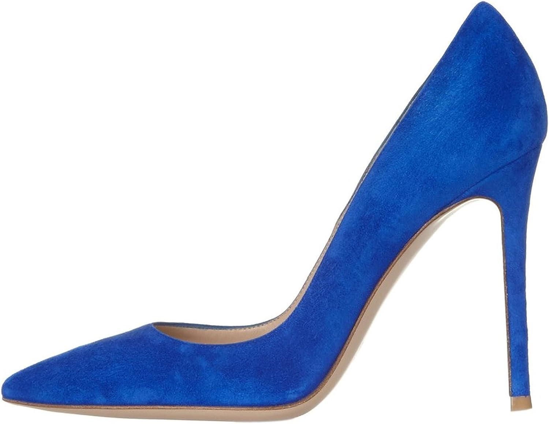 Eldof Women's Pointed Toe High Heels Stiletto 100cm High Heels Dress Pumps