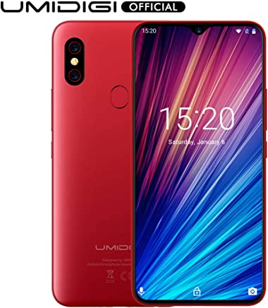 "$219 » UMIDIGI F1 Play with 6GB+64GB Memory Android 9.0 48MP+8MP+16MP Cameras 5150mAh 6.3"" FHD+ Global Version Smartphone Dual 4G LTE Cell Phone Unlocked (Red)"