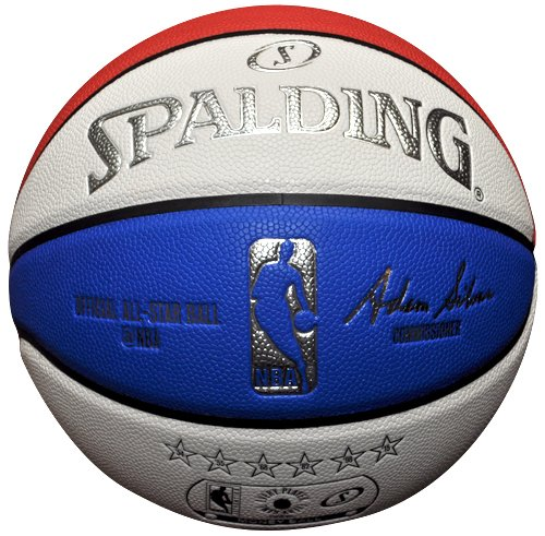 Read About Spalding 2015 NBA All Star Limited Edition Money Basketball, Red/White/Blue, Official Siz...