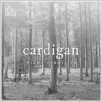 Cardigan - Piano Rendition