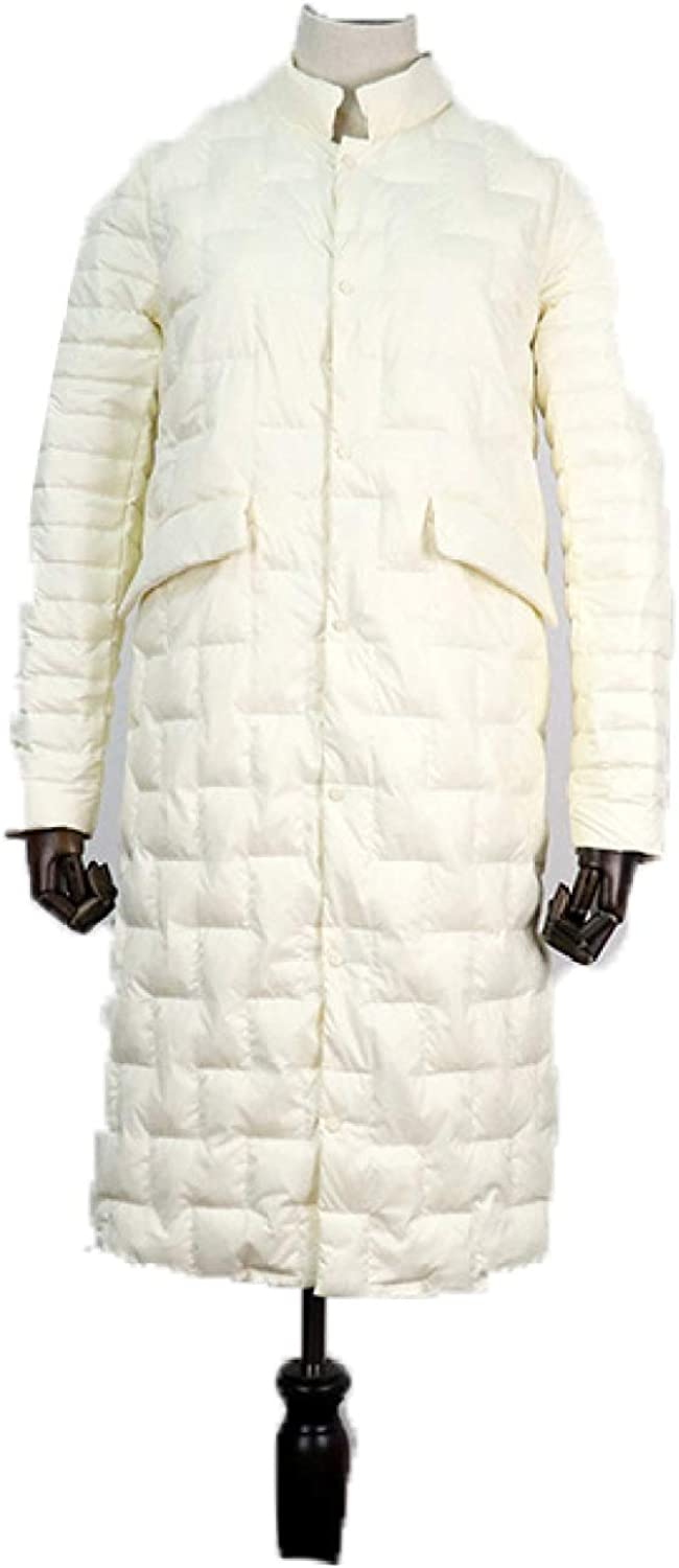 Women's Thickened Puffer Down Coats Women's Quilted Outerwear Jacket with Pocket