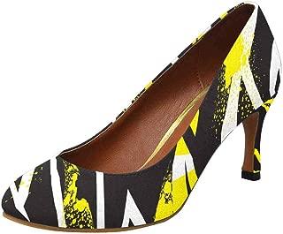 INTERESTPRINT Womens High Heels Comfort Pumps US5-US11
