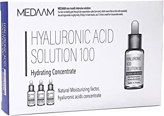 Sponsored Ad - [MEDAAM] Hyaluronic Acid solution 100 Hydrating Facial Moisturizer Ampoule | Intense Hydration for Dry and ...