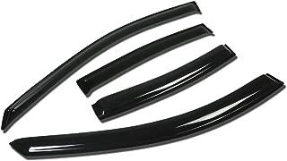 For Pontiac Grand Prix GM 4pcs Tape-On Window Visor Deflector Rain Guard
