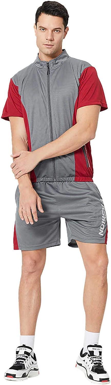 JSPOYOU 2021 Mens Outfits Tracksuit Shirt supreme Mail order cheap Set 2PCS Jogger Zipper