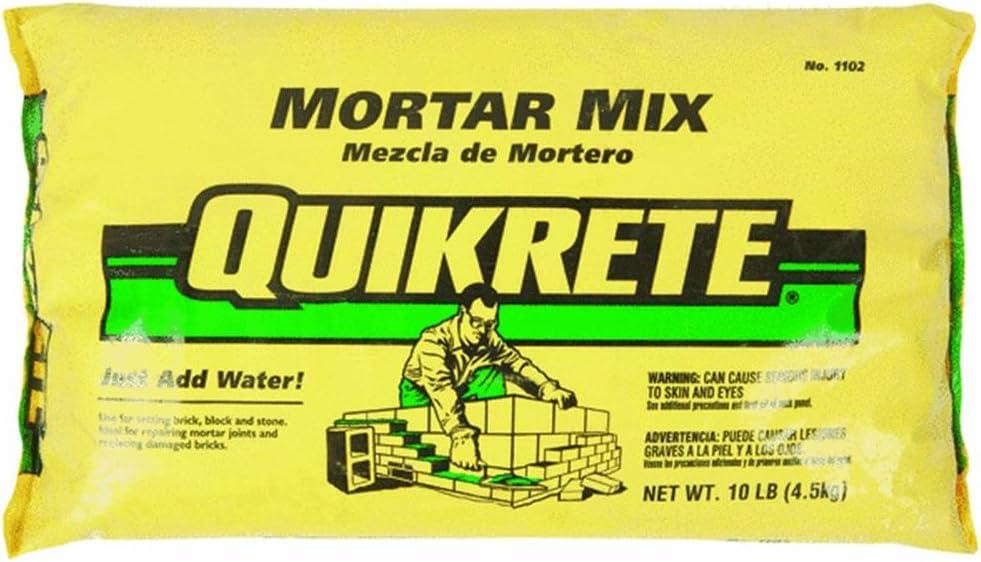 Max 86% OFF Quikrete trend rank Mortar Mix Bag Lbs. 10