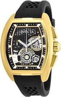 Invicta - 26398 S1 Rally Reloj para Hombre acero inoxidable quarzo Esfera negro