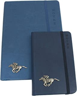 Ambulance Pair of Notebooks A6 or A5 Brown Grey Black Blue 556
