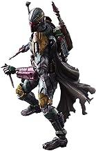 YYQIANG VARIANT PLAY ARTS Kai Boba Fett Figura de acción – Alien War PVC pintado personaje animado modelo – con armas y accesorios – alto 28 cm, DBLLMSBH