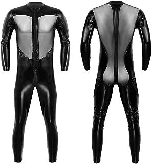 Best mens wet look bodysuit Reviews