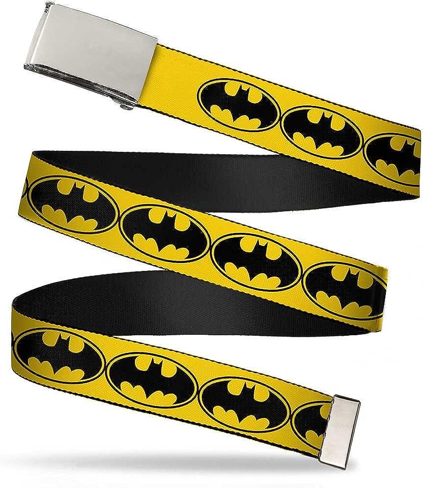 Buckle-Down Web Belt - Max 80% OFF New color Signal-3 Bat Black Yellow