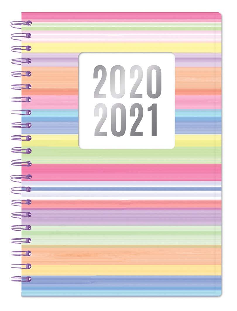 ERIK 11 meses Agenda escolar 2020//2021 d/ía p/ágina M Glitter 14x16 cm