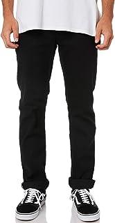 Volcom Pants Solver Denim Black on Black