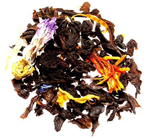 Nelson's Tea - Mango Passionfruit - Black Loose Leaf Tea - Black tea, dried mango, cornflowers, marigold petals, and safflower - 2 oz