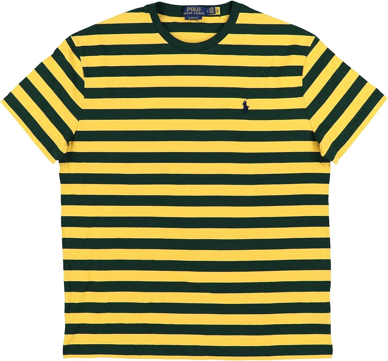 Polo Ralph Lauren Mens Classic Fit Crew Neck T-Shirt