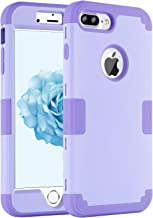 """iPhone 8 Plus Case, iPhone 7 Plus Case, DECVO Drop Protection Anti-Scratch Shockproof Rubber Bumper Protective 3 in 1 Hybrid Armor Defender Case Cover for iPhone 7 Plus / 8 Plus (5.5"""")"""