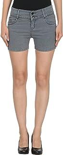 ROOLIUMS ® (Brand Factory Outlet Women's/Girls Basic Two Buttons Denim Short