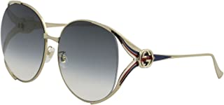 Gucci GG0225S Oversize Sunglasses 63 mm