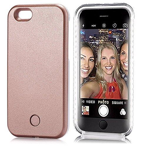 Neatday iPhone SE iPhone 5/5s LED Case LED Lighted Selfie Phone Case - Great Selfie and Facetime