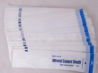 200 Pieces Intraoral Dental Camera Sleeve Sheath Cover for 5.0 Mega Pixels 6 LED