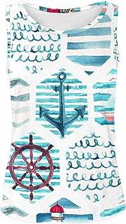 Graphic Design Tank Tops for Women Sleeveless Shirt