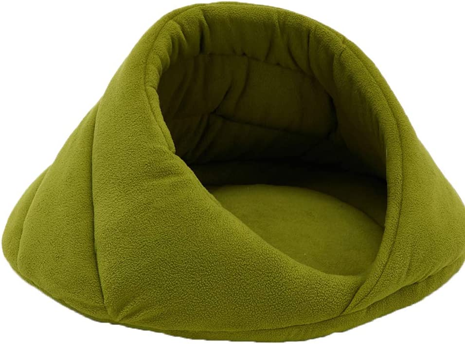 HOUTBY Round Self Sale special price Warming Pet Bed Mat Beds Cat Dog Max 62% OFF Soft Washable