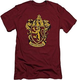 Harry Potter - Camiseta para hombre Gryffindor Crest Slim Fit.