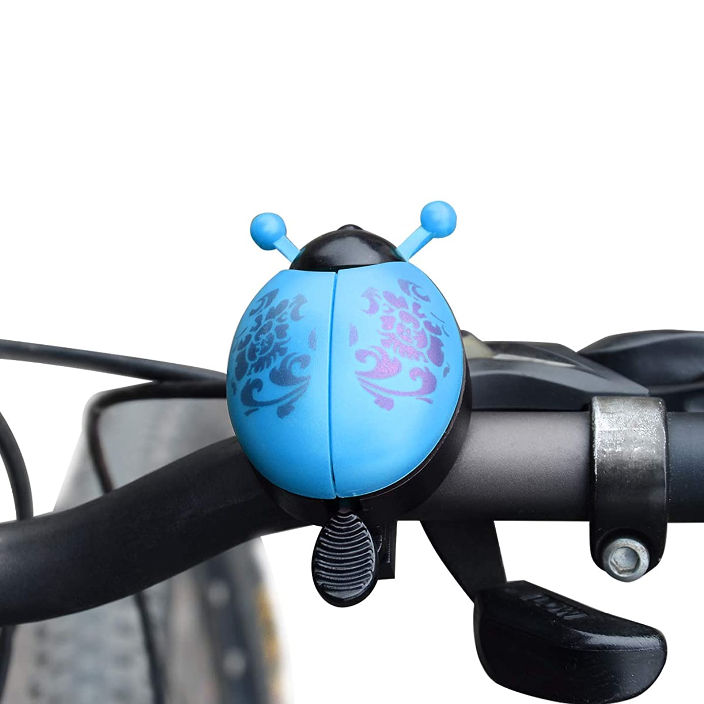 Coolrunner Kids Bike Bell, Kids Bike Horn Children Bicycle Bell Cute Ladybug Bicycle Warning Bell for Boys Girls Toddler