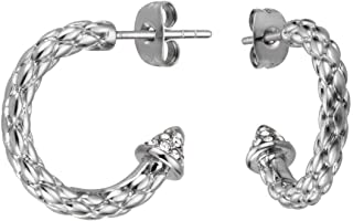 Stainless Steel Earring for Ladies by Just Cavalli, JCER00360100