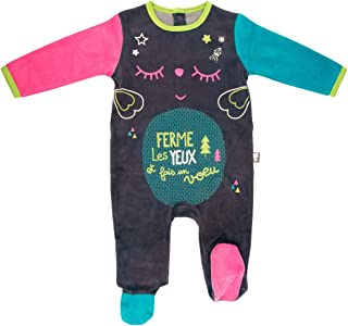 Pijama bebé terciopelo Wish–Talla–3meses (62cm)