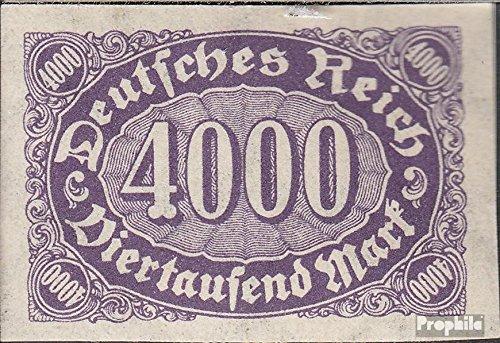 Prophila Collection Tedesco Empire 255U Imperforato 1922 I numeri Complementare-Valori (Francobolli per i collezionisti)