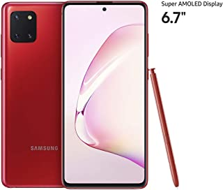 Samsung Galaxy Note10 Lite Dual SIM 128GB 8GB RAM 4G LTE (UAE Version) - Red - 1 year local brand warranty