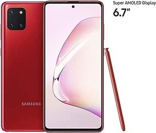 Samsung Galaxy Note 10 Lite Smartphone, 128 GB, 8 GB RAM, Dual SIM, Android, UAE Version - Red
