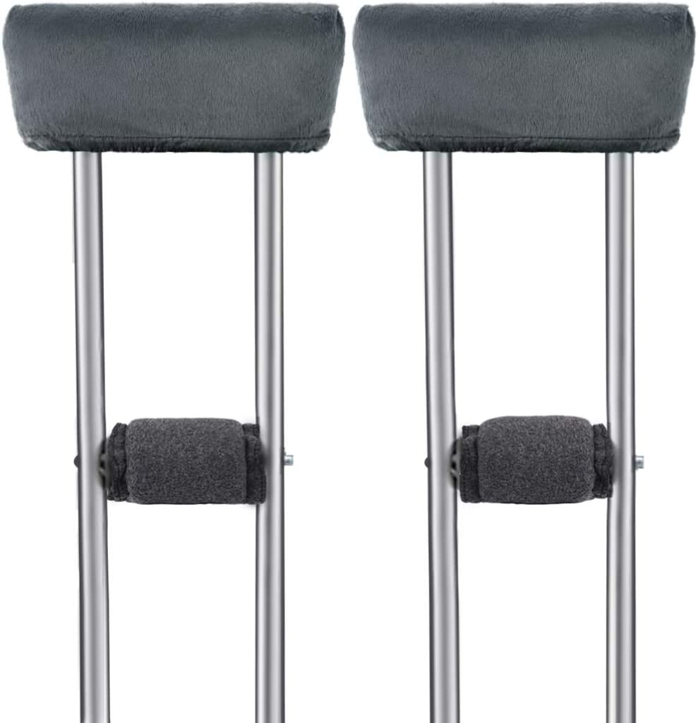 EXCEART Animer and price revision 4pcs Crutches A surprise price is realized Handle Covers Universal f Pad Arm